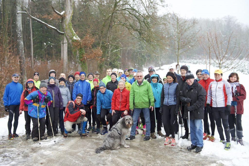 Leichtathletik Dreikönigstreffen der Läufer in Markdorf am 6. Januar 2019